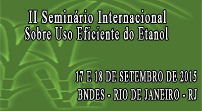 Seminário acontece nos dias 17 e 18 de setembro no Auditório do Centro de Treinamento do BNDES, Rio de Janeiro.